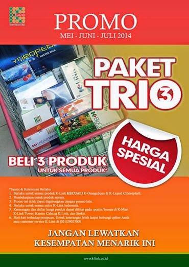 Paket Trio K-Link